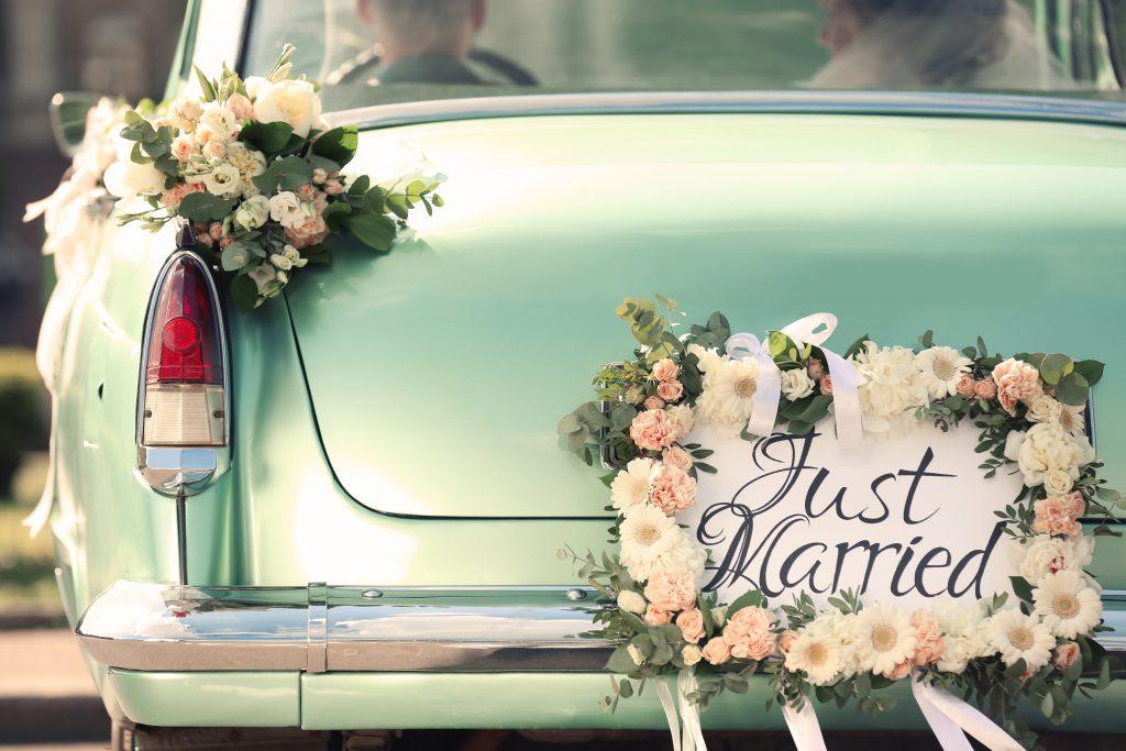 Voiture de Mariage Grimod Traiteurs